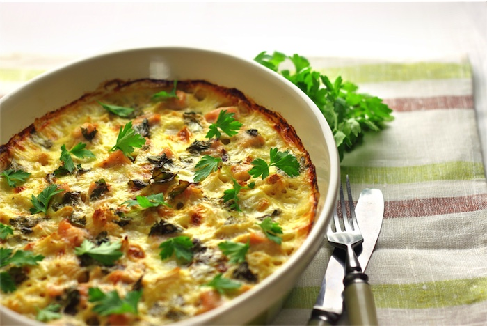 Cauliflower Breakfast Casserole