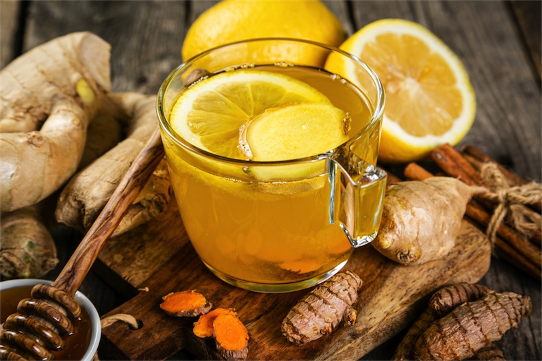 ginger juice as an antiviral