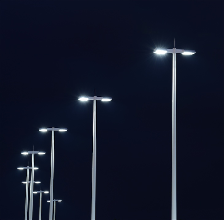 artifical light at night