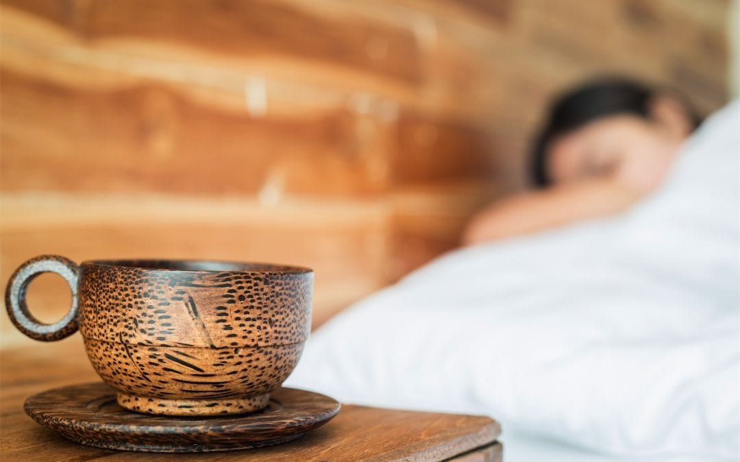 Theanine in tea helps you to relax and sleep