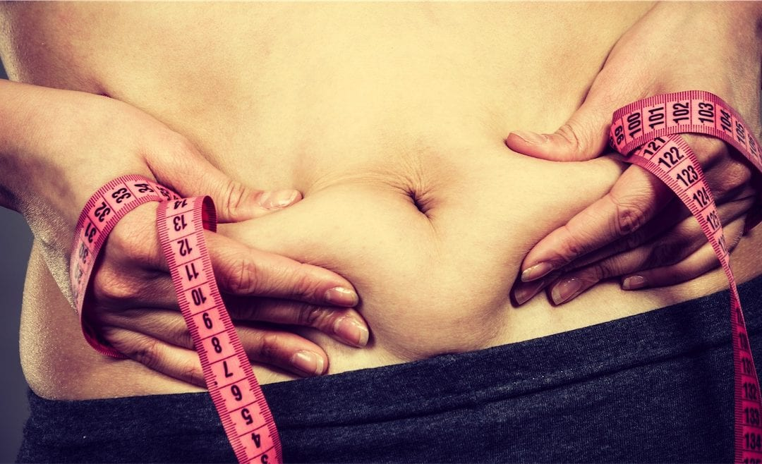 Why women gain weight in their forties